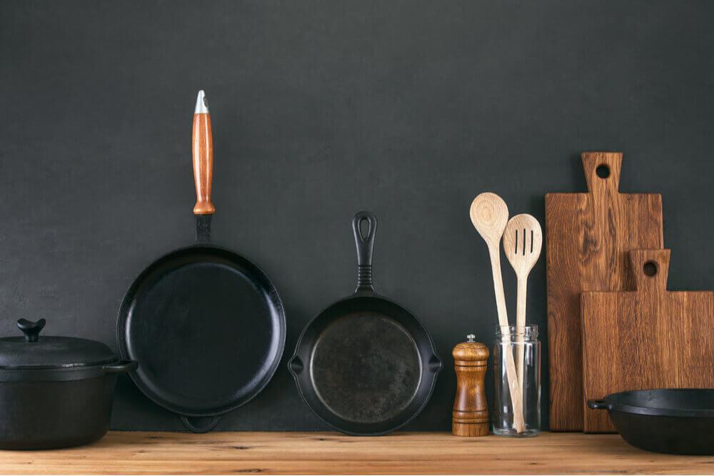 Kit com utensílios domésticos essenciais para sua cozinha