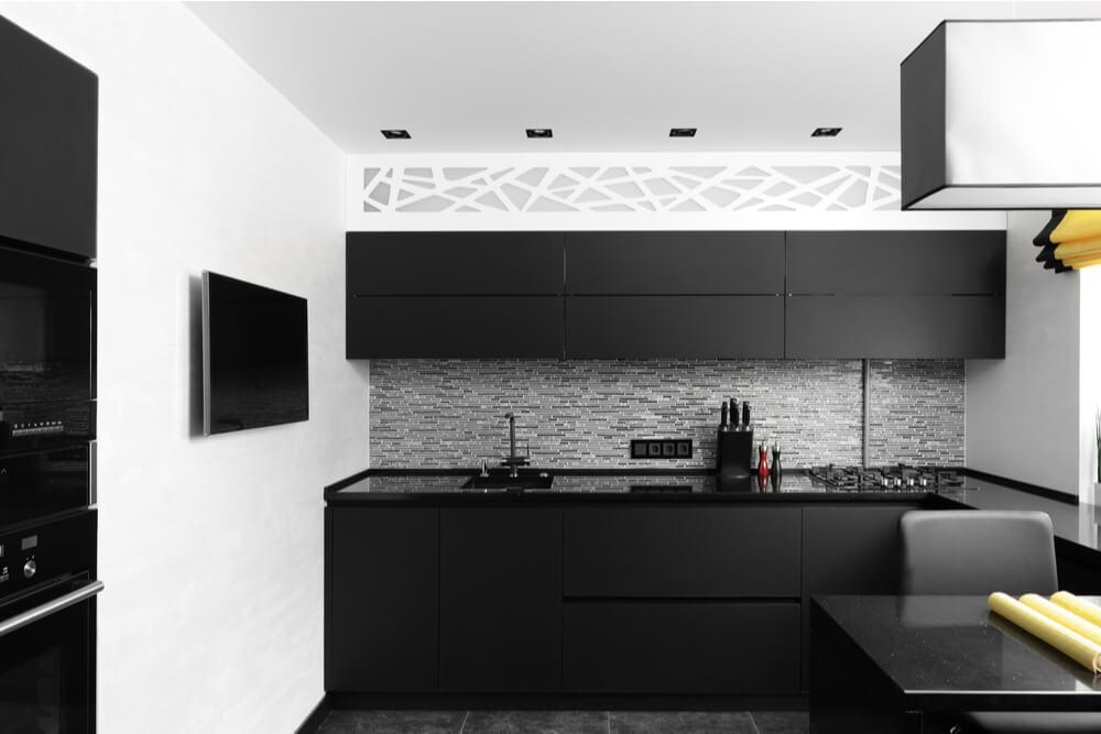 como combinar cores na decoração da cozinha